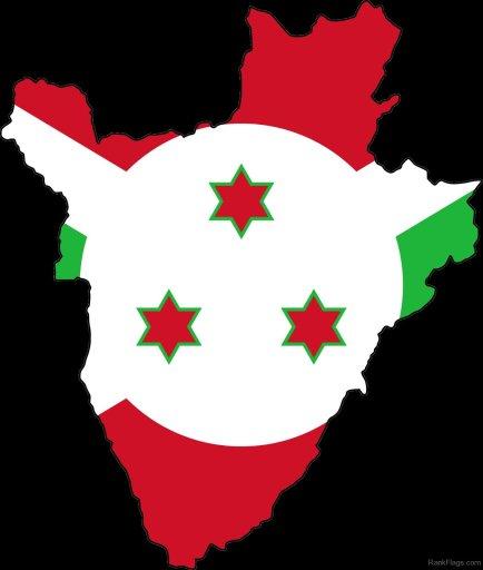 Burundi-Map-Flag
